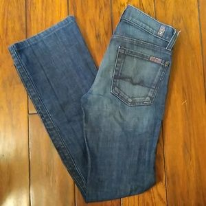 7 For All Mankind Jeans. Size 24. Bootcut.